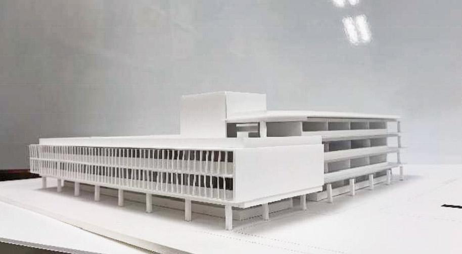 新校舎の配置計画決まる